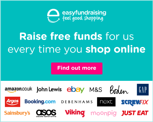 Please help support the East Coast Sail Trust by shopping online.  Use easyfundraising to shop with over 3,500 retailers including Amazon, Argos, John Lewis, ASOS, Booking.com, eBay, Boden, and M