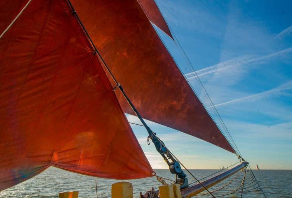 Thalatta in the Colne Barge Match 2018