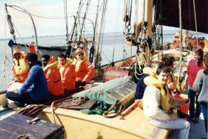 RNIB Sailing on Thalatta 3