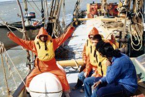 RNIB Sailing on Thalatta 1