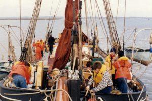 RNIB Sailing on Thalatta 2