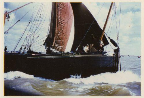 The Thames Sailing Barge 'Memory'