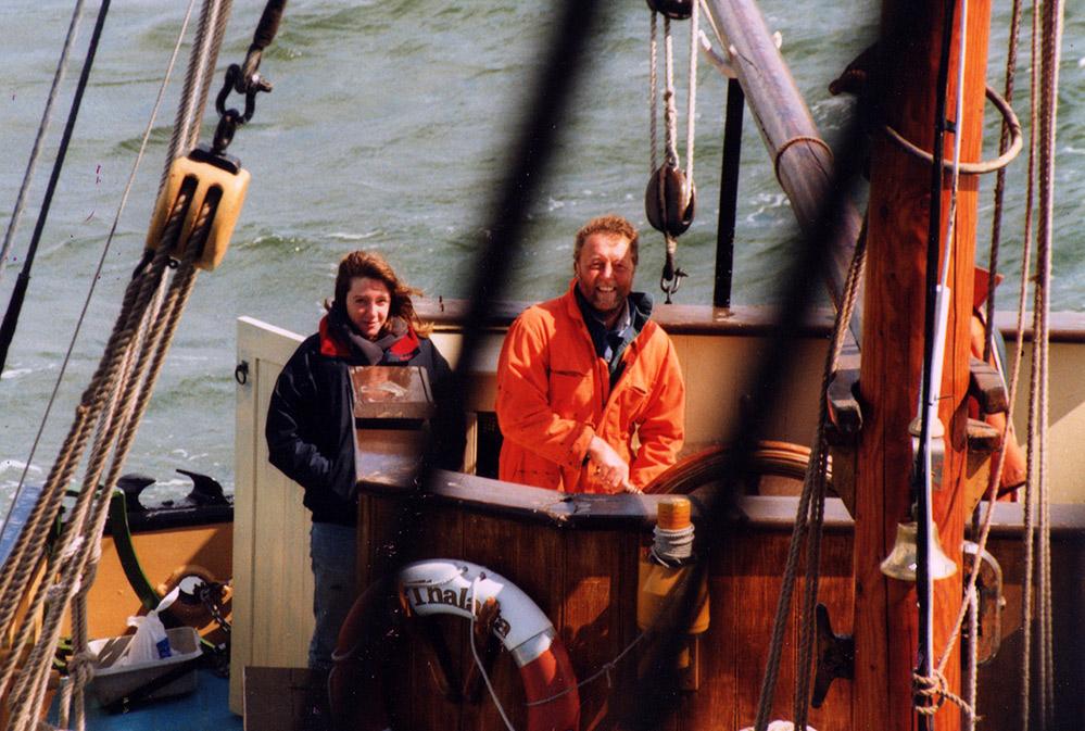 Cyril Varley becomes Skipper